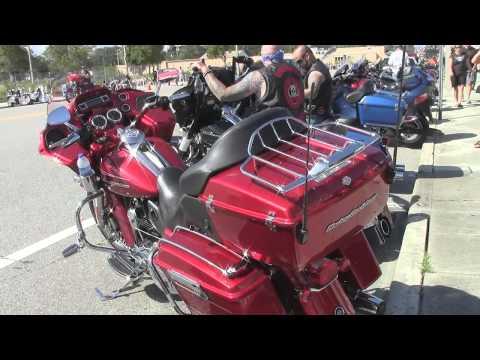 Biketoberfest 2013 - Day1 along North Beach Street in downtown Daytona Beach, Florida