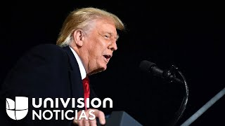 Trump reta a demócratas para que intenten enjuiciarlo si nomina el remplazo de Ruth Bader Ginsburg