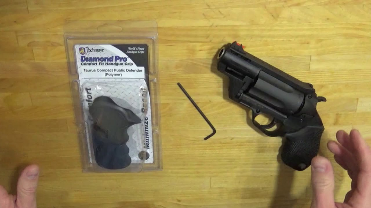 Replace Taurus Judge Grip (Polymer Frame)