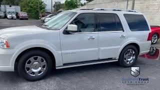 LIVE VIDEO 2006 Lincoln Navigator 4dr 4WD Luxury #J10424