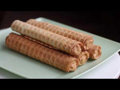 ✧ Вафельные трубочки со сгущенкой ✧