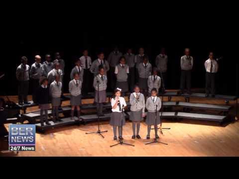 West Pembroke Primary School Choir, February 13 2015