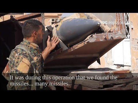 YPG-led SDF captures Soviet-made missiles from ISIS in Raqqa
