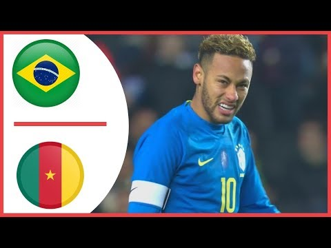Brazil vs Cameroon ( 1-0 ) All Highlights & Goals  21.11.2018