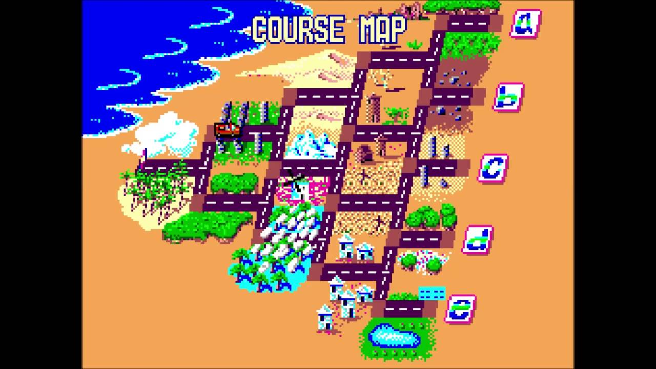Out Run Sega Master System ALL Endings YouTube - How to map out a run