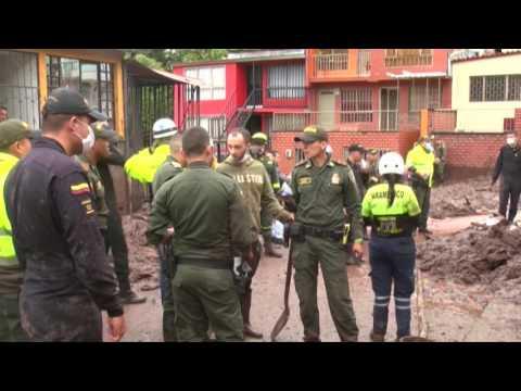 Colombia Landslide Kills Dozens, Many Missing