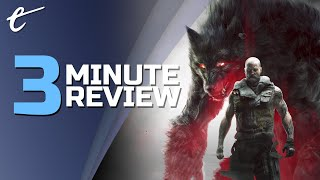 Werewolf: the Apocalypse - Earthblood | Review in 3 Minutes (Video Game Video Review)