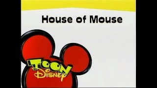 (REAL DEAL) House of Mouse