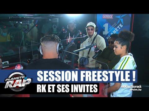 Youtube: RK – Session freestyle avec Landy, Liim's, Victoire, DRK2BINKS & KX! #PlanèteRap