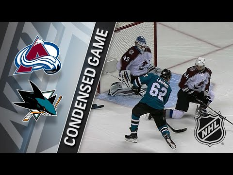 04/05/18 Condensed Game: Avalanche @ Sharks