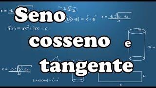 Seno, cosseno e tangente no triângulo retângulo