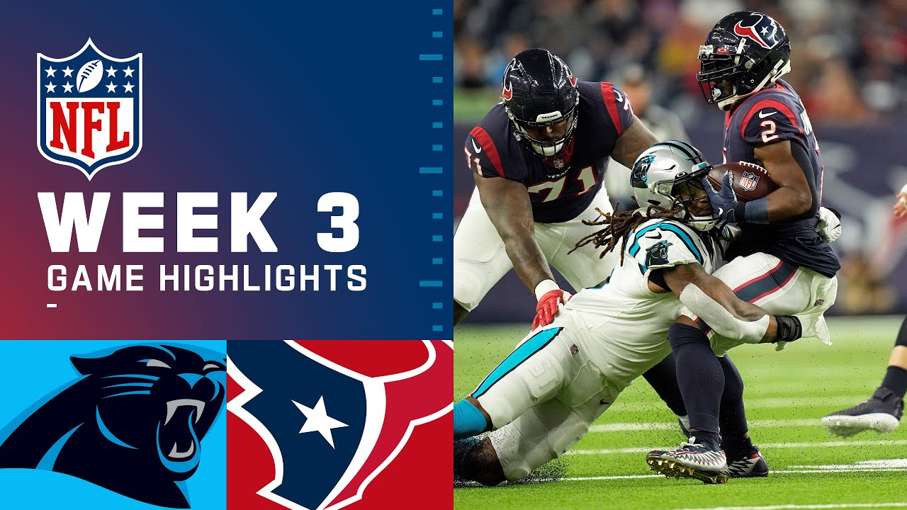 Download Carolina Panthers vs. Houston Texans Week 3 | 2021 NFL Game Highlights