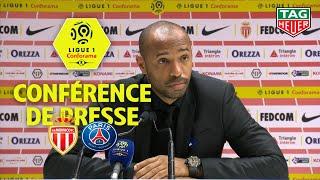 Conférence de presse AS Monaco - Paris Saint-Germain ( 0-4 ) / 2018-19
