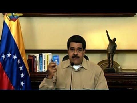 """Maduro dice que EEUU dio """"luz verde"""" a un golpe de Estado"""