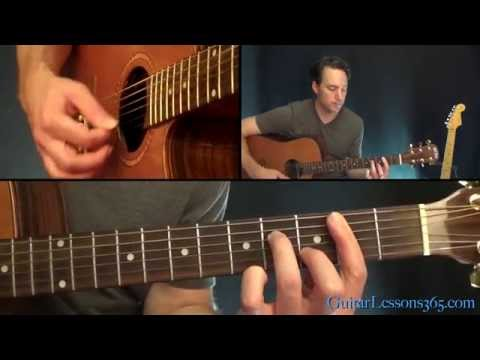 Pink Floyd - Brain Damage Guitar Lesson (Acoustic)