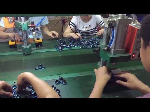 Fidget Spinners Manufacturing Process in Shenzhen Factory in China