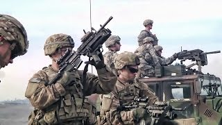 U.S. Airborne Infantry • Live Fire Exercise In Germany