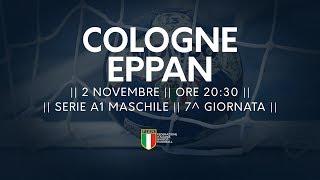 Serie A1M [7^]: Cologne - Eppan 24-26