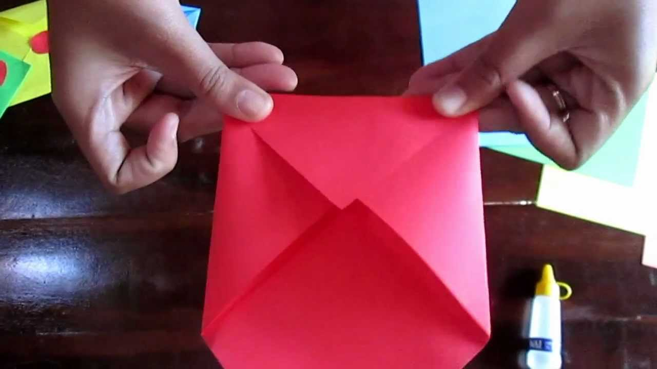 Cara Membuat Amplop Surat Dari Kertas   Kumpulan Contoh Surat