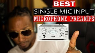 THE BEST MICROPHONE PREAMPS