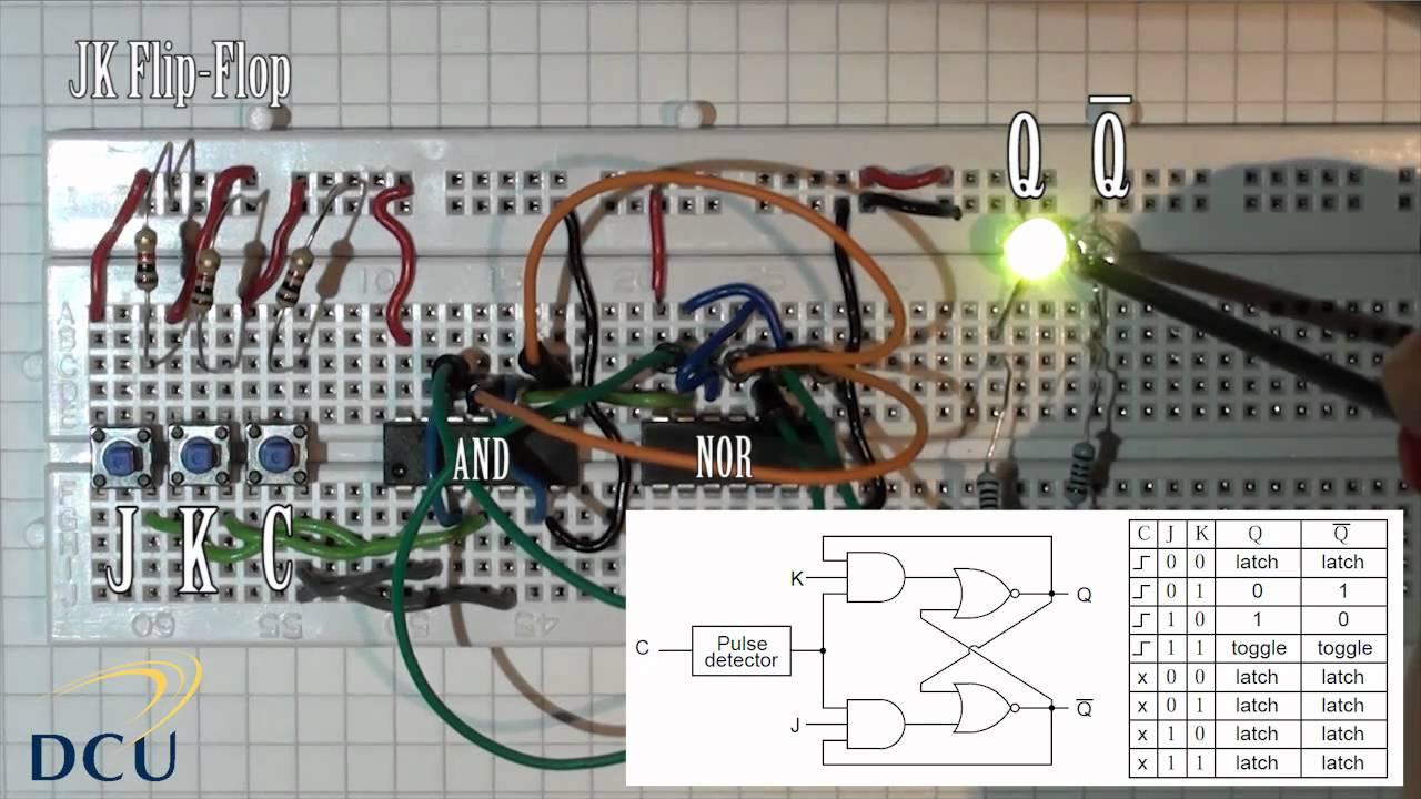 Circuit Diagram Of T Flip Flop Using Jk Flip Flop