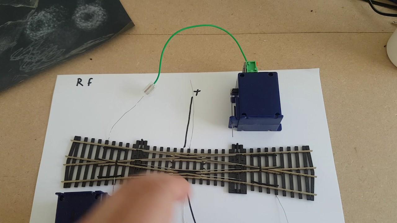 double slip frog wiring peco [ 1280 x 720 Pixel ]