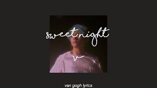 Gambar cover sweet night - v || lyrics