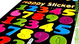 Stickers Online - Numbers Happy Sticker - ACC-011 - Dilkash Online Store