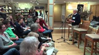 John Ikerd speaking at the Southeast Iowa Food Hub 2015 Celebration Fundraiser