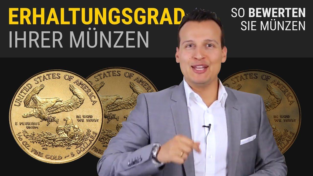 Erhaltungsgrade Von Münzen Youtube