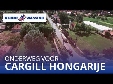 Nijhof Wassink mengvoeder transport Cargill Hongarije