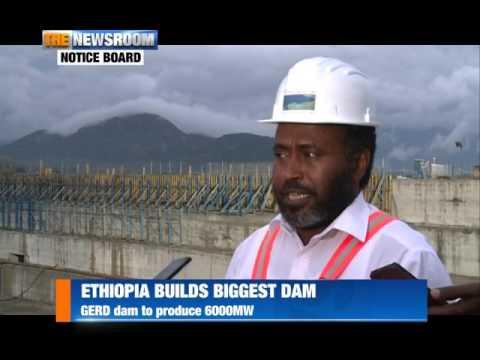 ETHIOPIA BUILDS DAM