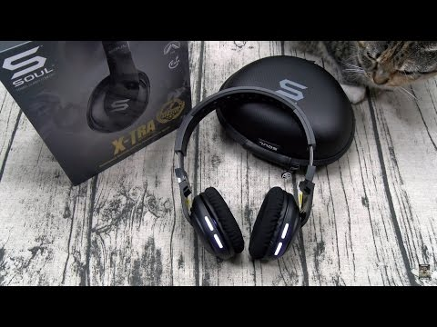 Gym Headphones Done Right! -The SOUL X-TRA Wireless Sport