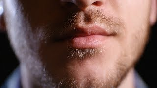 Soft mouth sounds ASMR - close English, Slovak whispering - (description included)