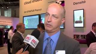 IBC 2014: Mike Cronk, Grass Valley