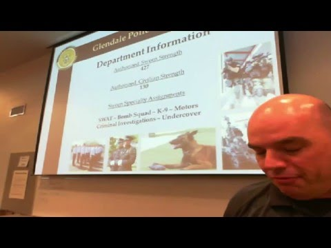 Glendale Police Officer Recruit Orientation April 14, 2016  Live Stream