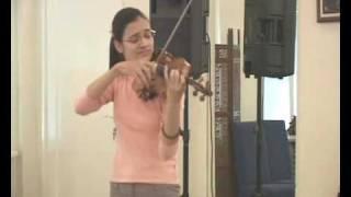 Snezana Acimovic - W.A . Mozart: Allegretto D major