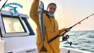Девушка обловила всех Рыбалка в Дубаях