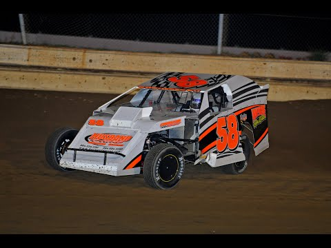 Joe Gabrielson Heat and Feature win at Sharon Speedway 5-19-12