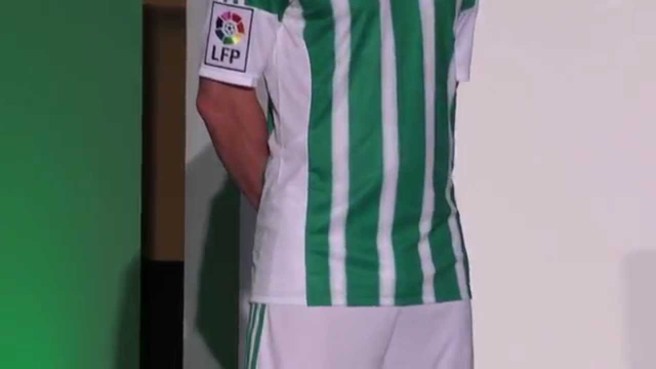 Admirable otro estoy feliz  Así son las nuevas camisetas Adidas para el Betis 2015-16 - YouTube