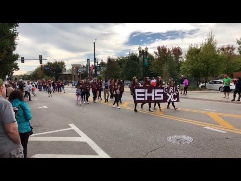 Elgin High School homecoming parade 2017