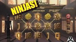 NINJAS! - Online Slots - PlayOJO Casino - The Reel Story