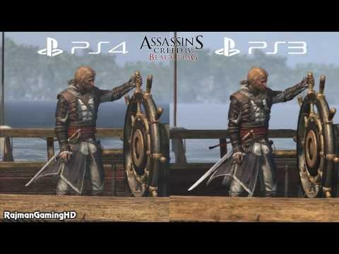 Assassin S Creed Iv Black Flag Ps3 Vs Ps4 Graphics Comparison 2