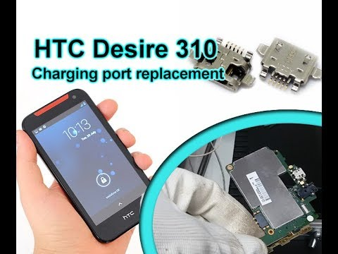 HTC Desire 310 Charging Port Replacement / Wymiana złącza usb | Selekt