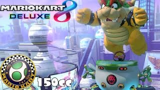 Mario Kart 8 Deluxe: 150cc Egg Cup w/ Bowser [1080 HD]
