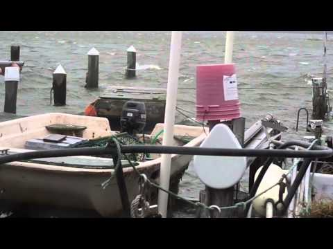 Frankenstorm Hurricane Sandy, high tide in Point Lookout,NY