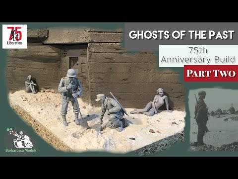 'Ghosts Of The Past' Diorama - Part 2