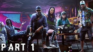 WATCH DOGS 2 Walkthrough Gameplay Part 1 - Cyberdriver (PS4)