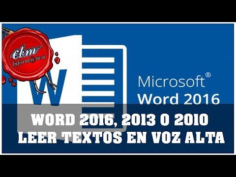 programa que lea pdf en voz alta español para pc