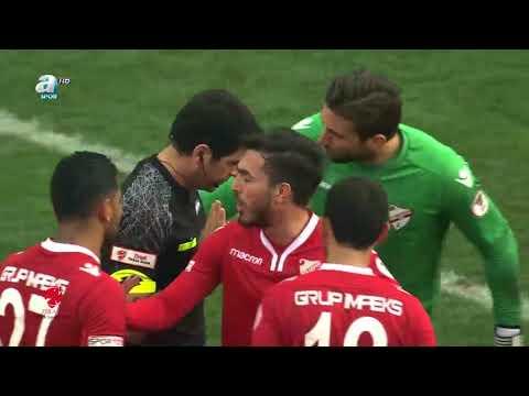 TM Akhisarspor 1-0 Boluspor | ZTK son 16 rövanş | a spor | Özet | 17.01.2018